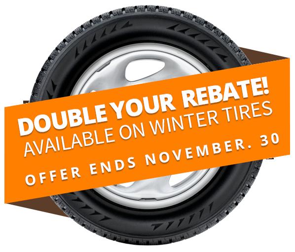 Tire Rebates Winnipeg